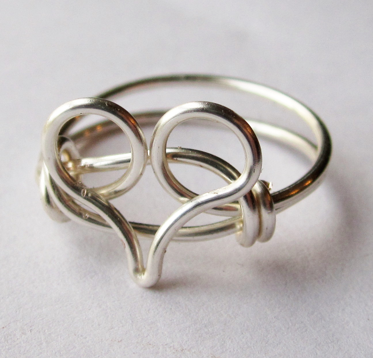 silver ring custom size on luulla